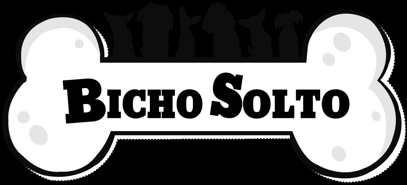 Logo Bicho Solto - Creche e hotel para cachorros e gatos.